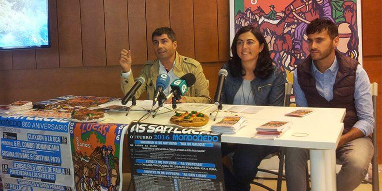 Presentacions de As San Lucas 2016 en Santiago