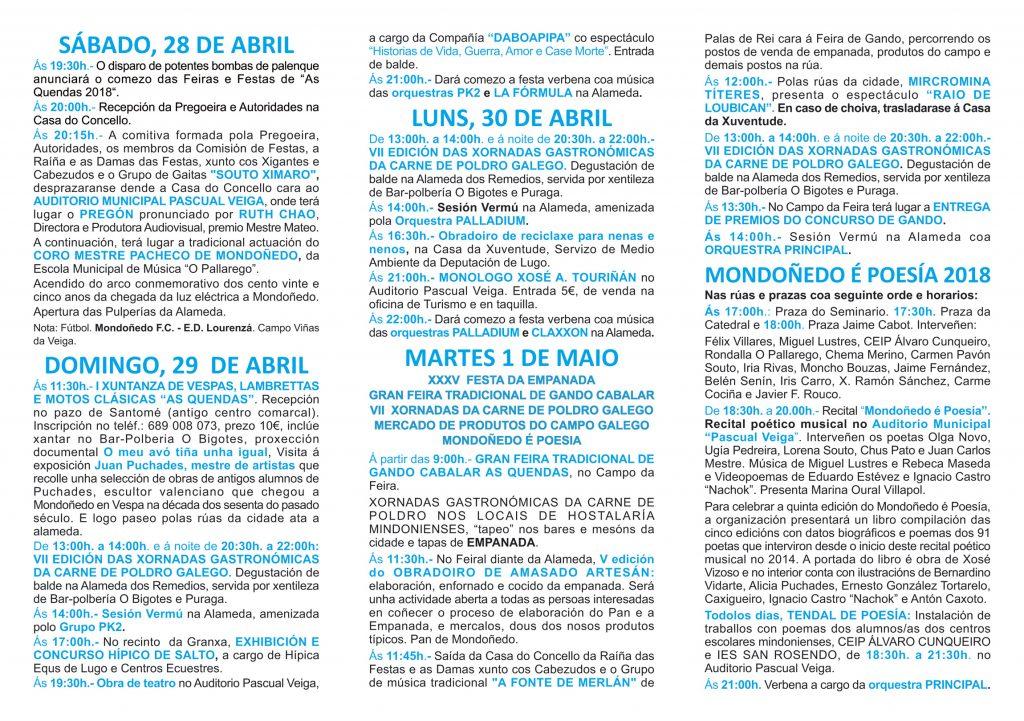 Programa festas das Quendas 2018 (int)